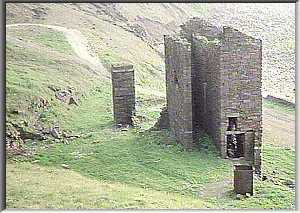 Newcomen engine house and shaft area of Saltom Pit